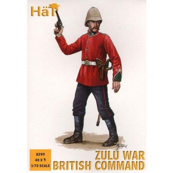 Zulu Kriege britischem Kommando x 48 Figuren