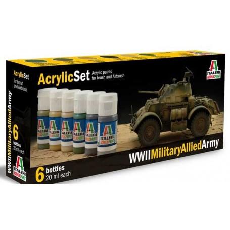 Set Paints Tanks Allies 2.GM