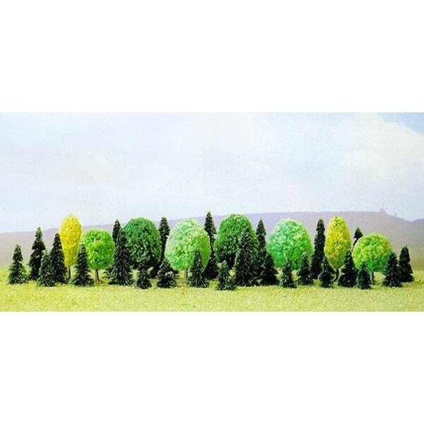 Packung mit 35 verschiedenen Bäumen