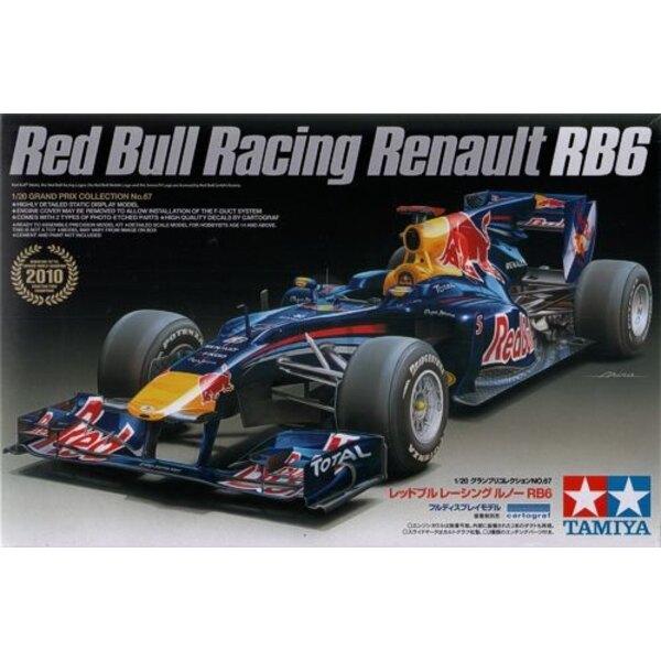 Red Bull RB6 Formel 1-Auto wie von Mark Webber und Sebastian Vettel in der Saison 2010 gefahren.