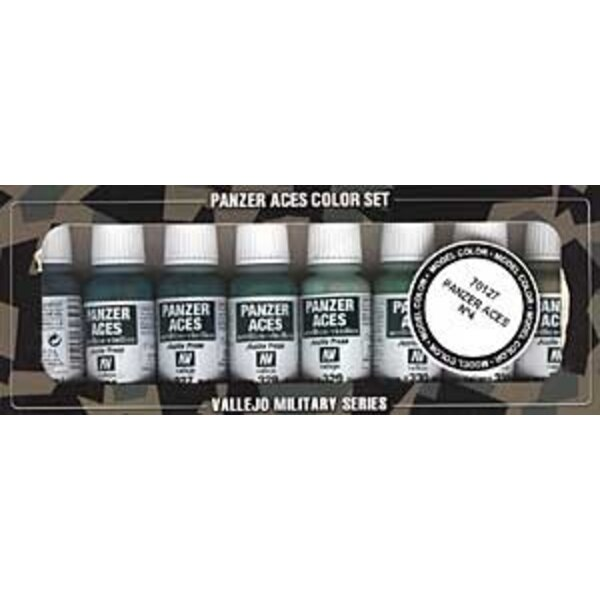 Panzer Aces No.4 Paint Set
