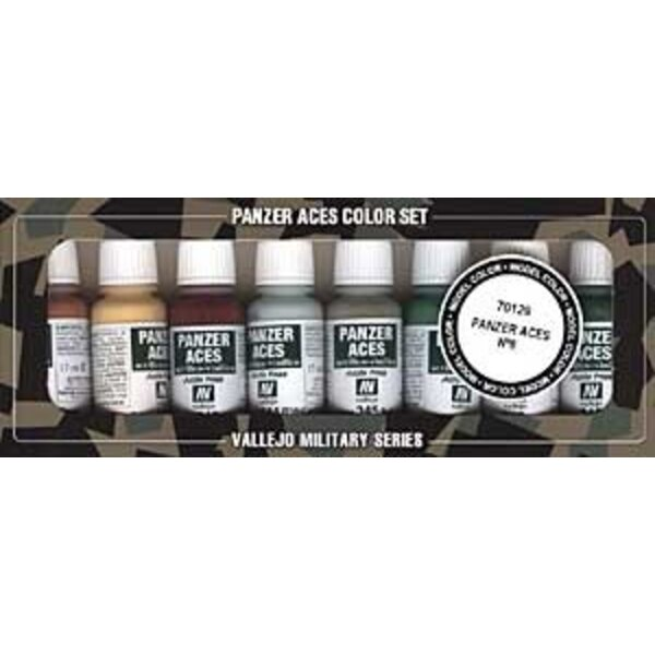 Panzer Aces No.6 Paint Set