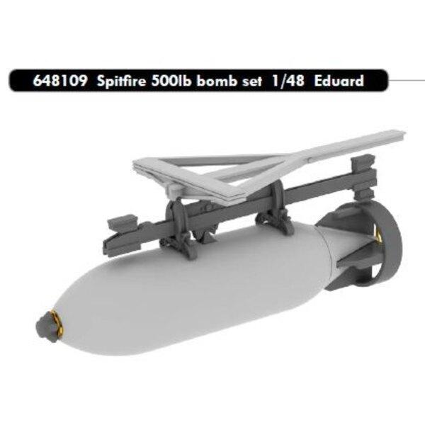 Supermarine Spitfire 500 £ Bombe Set (entwickelt, um mit Eduard-Kits verwendet werden)