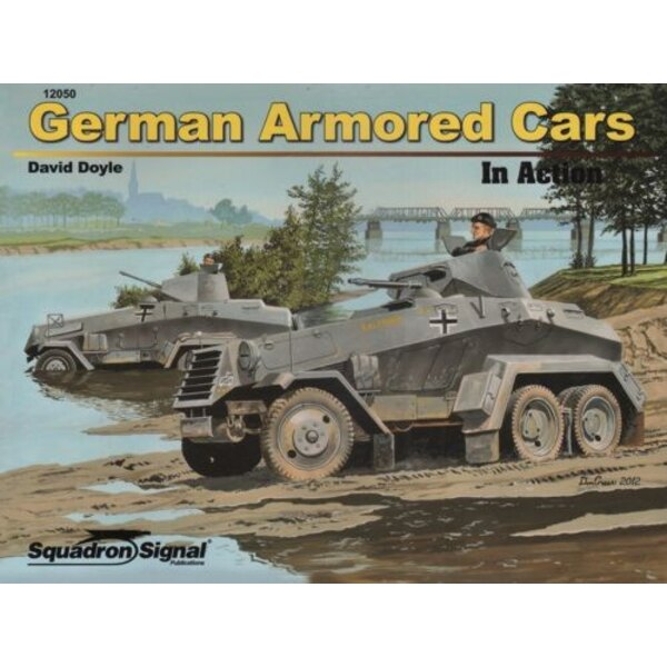 GERMAN ARMOURED CARS IN ACTION SERIE (Soft Cover)