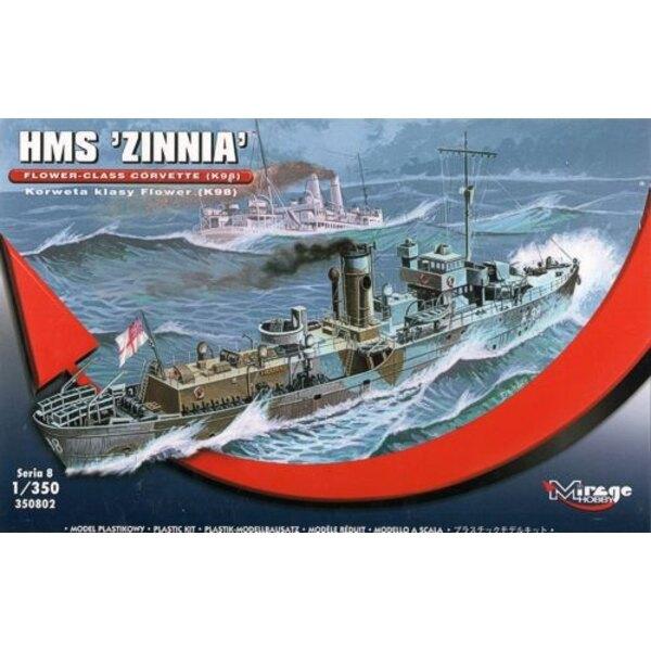 Flower Class Corvette HMS ZINNIA