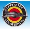 Patch-Luftwaffe Eurofighter (silber)