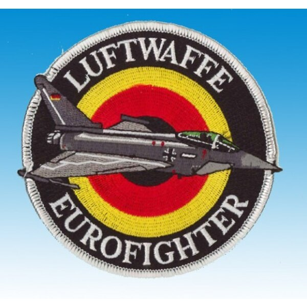 Patch-Luftwaffe Eurofighter (silber)