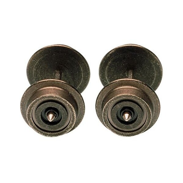 Radsatz Ø 6 mm einseitig isoliert.