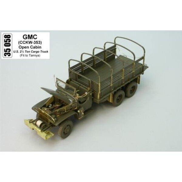 GMC offenes Kabinendach (für Bausätze von Tamiya)