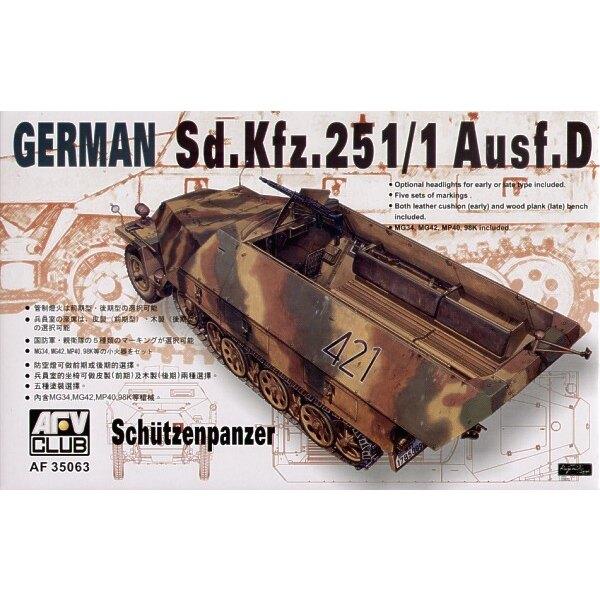 Sd.Kfz.251 D/1 Half-Track Schurzenpanzer