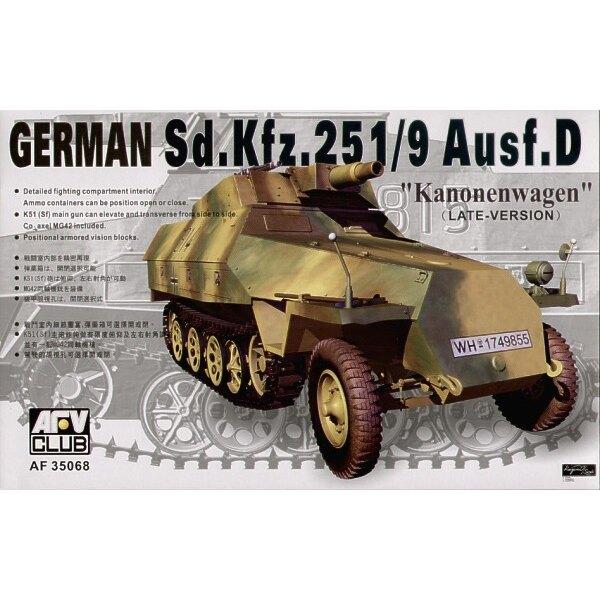 Sd.Kfz.251 D/9 Half-Track mit 75-Mm-Kanone