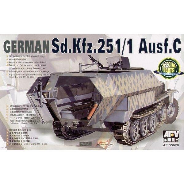 Sd.Kfz.251:1 Ausf. C Schutzenpanzer