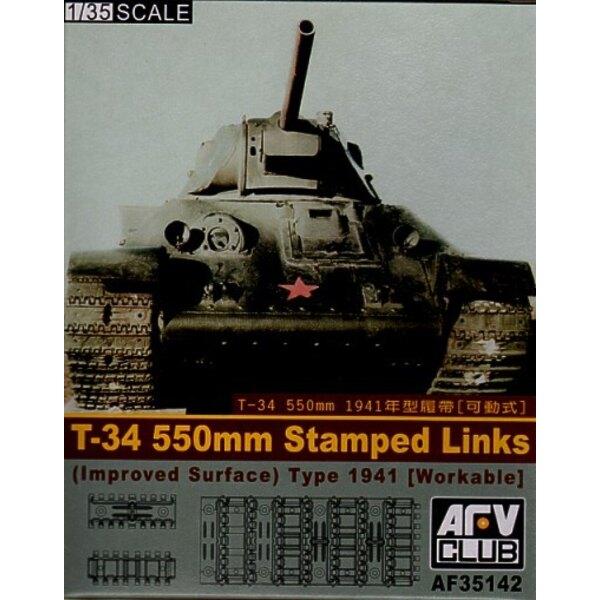 T-34 Bearbeitungsfähige 550-Mm-Kette-Verbindungen