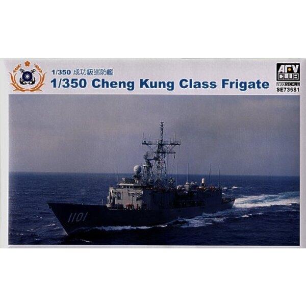 Fregatte von Cheng Kung Class mit geätzt und Harz-Teile