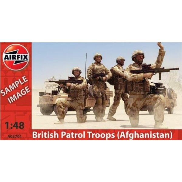 Britische Patrouille in Afghanistan