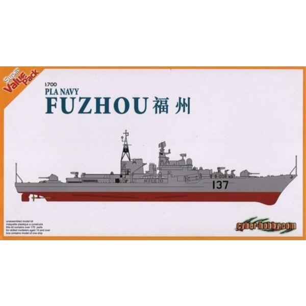Chinesische Volksbefreiungsarmee Navy Fuzhou - Sovremenny Class Missile Destroyer