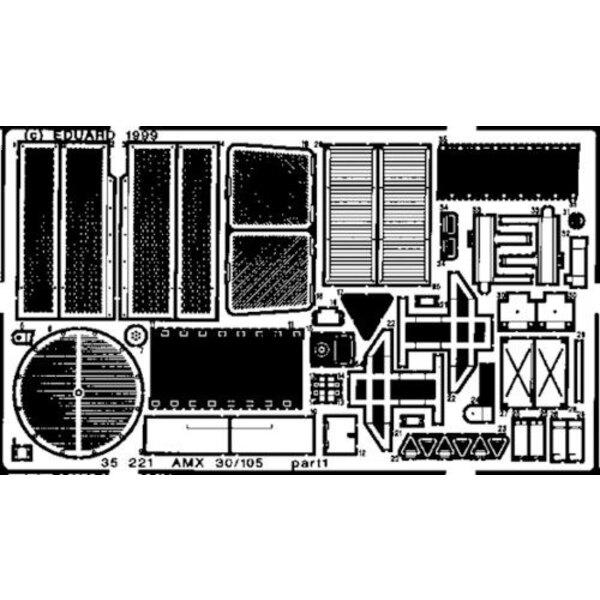 AMX-30/105 (für Bausätze von Heller)