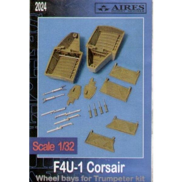 Radbucht von Vought F4U-1 Corsair (für Bausätze von Trumpeter)