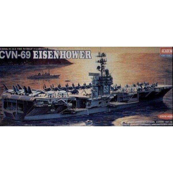 USS Eisenhower CVN-69 (WAS AC1440) Bild 1 / 800-14212 Academy