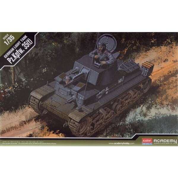 Pz.Kpfw.35 (t) New Tooling 1/35 - Academy 13280