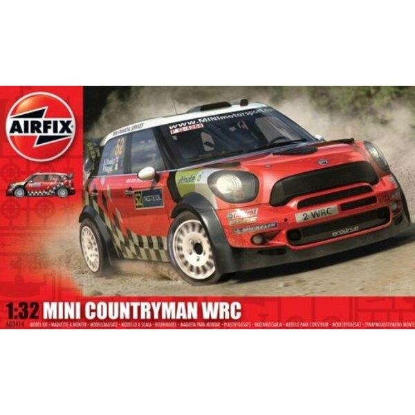 Mini Countryman WRC 1/32 - Airfix 03414