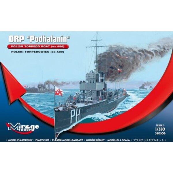 ORP PODHALANIN - polski torpedowiec (ex A80)
