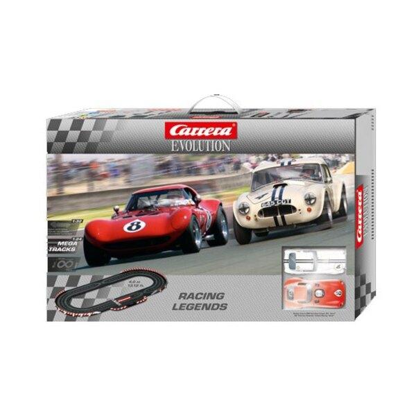 Schaltungen Entwicklung Racing Legends