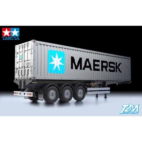 Auflieger Container Träger