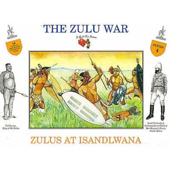 Zulu an Islandwana 16 Figuren