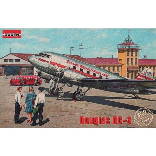 Douglas DC-3 Trans World Airlines, Ende der 1930er Jahre