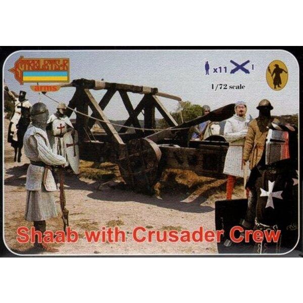 Shaab mit Crusader Crew. Kreuzzüge