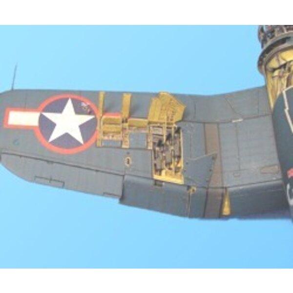Vought F4U-1 Corsair gunbay (für Bausätze von Tamiya)