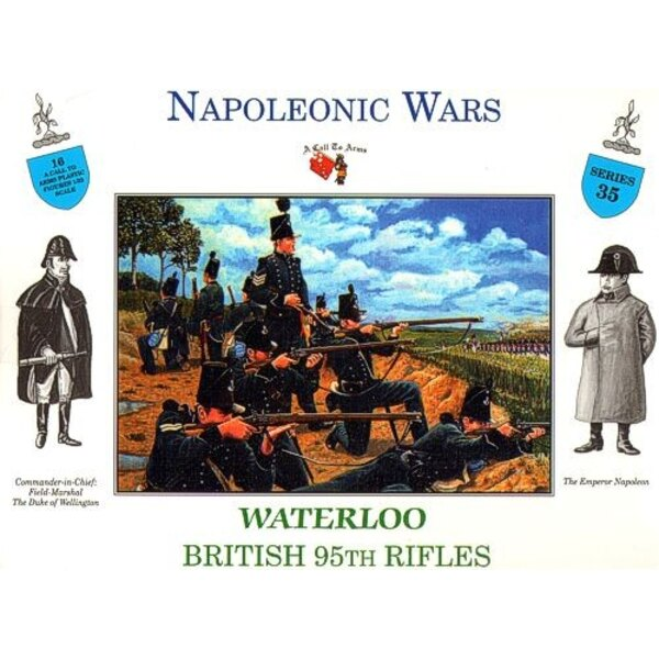 95. BRITISH RIFLES WATERLOO