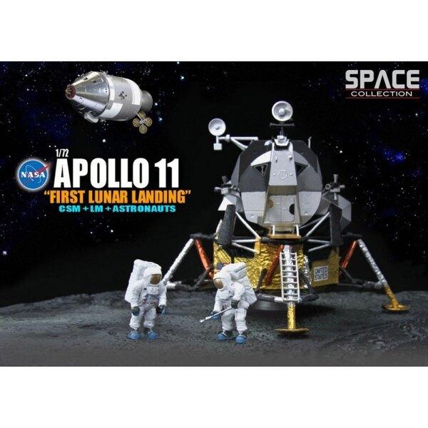 Erste Apollo 11 Lunar Landing CSM + LM + Astronauten