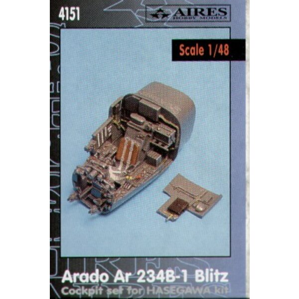 Cockpit für Arado Ar 234B-1 Blitz (für Bausätze von Hasegawa)
