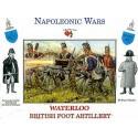 Britische Fußartillerie Waterloo 16 Figuren