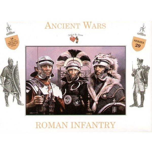 Römische Infanterie x 16 Figuren