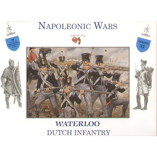 Holländische Infanterie Waterloo