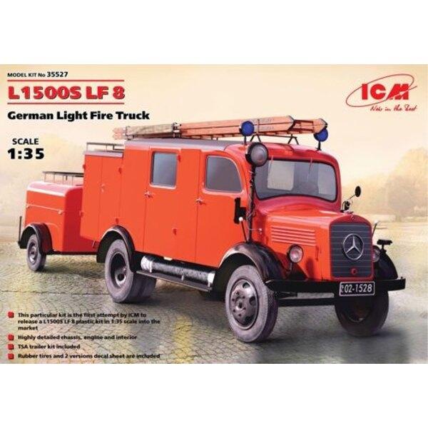 L1500S LF 8 , German Truck Licht Feuer