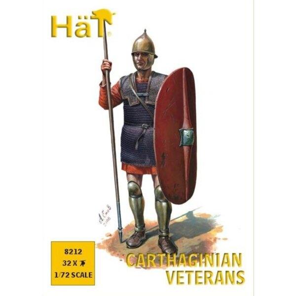 Karthagischen Veteranen Speerträger