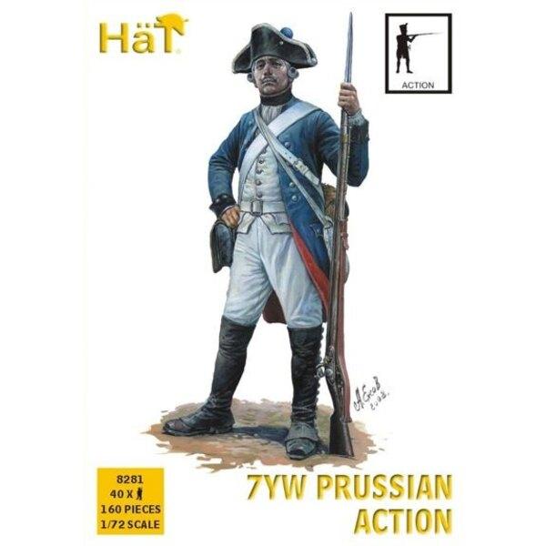 Preußischen Infanterie , Aktion Sieben Jahre War/7YW