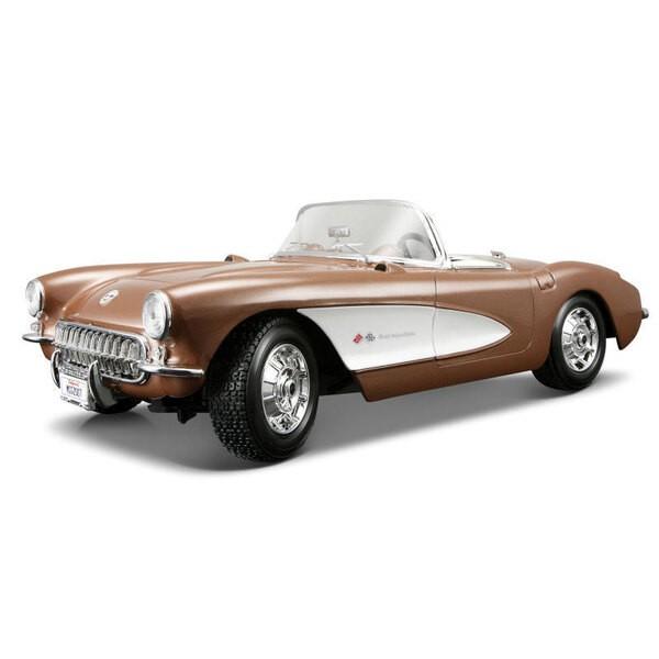 Chevrolet corvette 1957 57 1:18