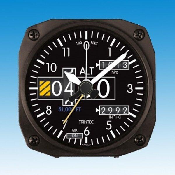Clock - Wecker: Höhenmesser- Stil