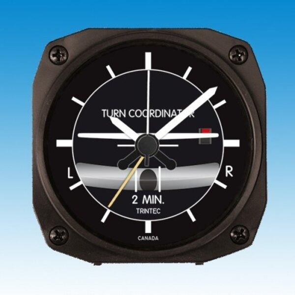 Clock - Wecker: Turn - Bank- Stil