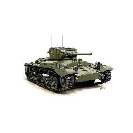 Valentine Mk. II : Pack enthält zwei Snap zusammen Tank -Kits
