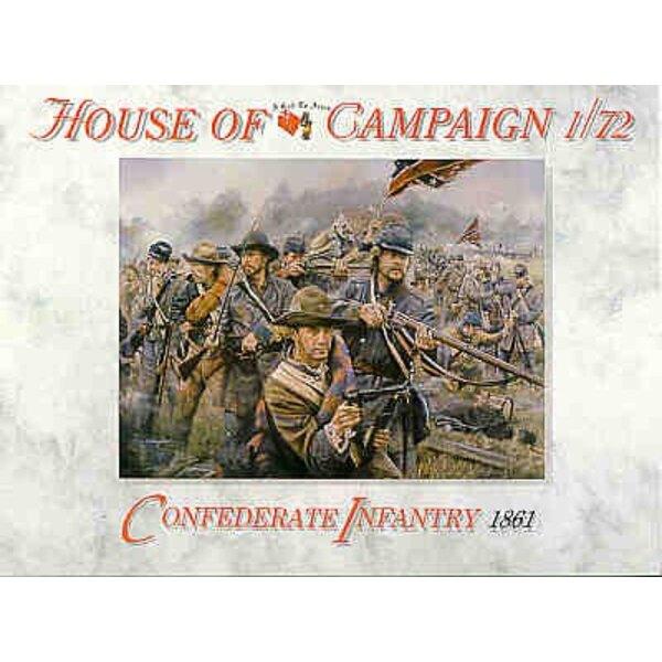 Amerikanischer Bürgerkrieg Südstaatlerische Infanterie