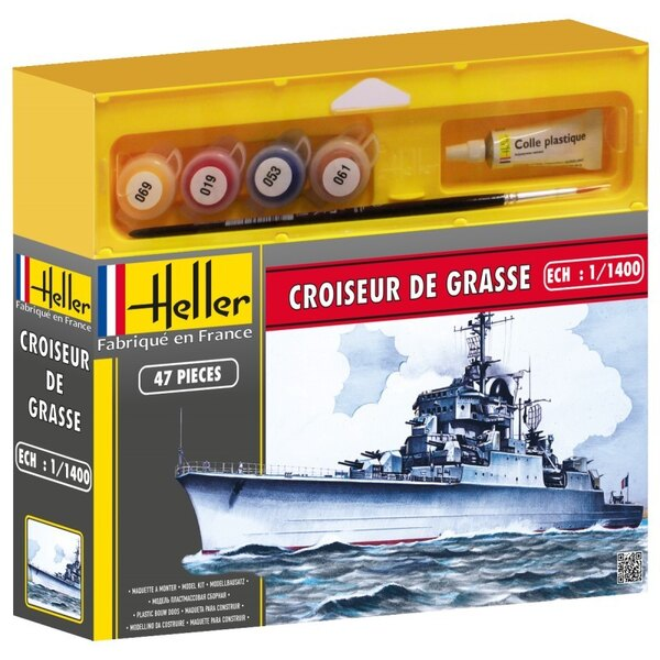 Croiseur De Grasse Cadet - Farben und Pinsel beinhaltet