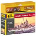 Schlachtschiff Bismarck Cadet - Farben und Pinsel beinhaltet