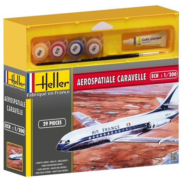 Aerospatiale Caravelle Cadet - Farben und Pinsel beinhaltet
