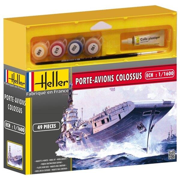 Porte Avions Colossus Cadet - Farben und Pinsel beinhaltet